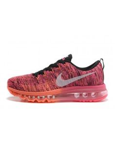 purchase cheap 1950d 303c1 Nike Women s Air MAX Flyknit Runing Shoes Rose and White 408F