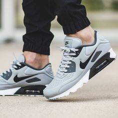 ef073f92b53e Nike shoes mens air max 90 ultra se wolf grey black dark grey - visit our  website for more info and prices.