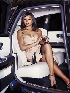 Taraji P. Henson Gets Sexy and Sophisticated in Latest Magazine Spread