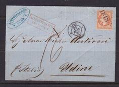 FRANCE 1862. N°16 RARE OBLITERATION PROVISOIRE  1818  SUR LETTRE.   B66