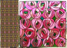 roses-eddie-squires-charles-rennie-mackintoch-art-nouveau-news-rose-mobilier-design-sur-mesure-coloré-les-pieds-sur-la-table