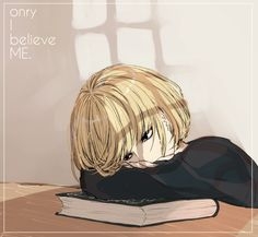 Mello || Why is he so cute in this? Oh my