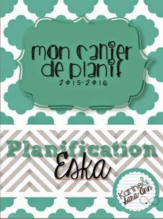 La classe de Karine: Planification Eska