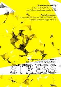 STRESS!  Love the text style.