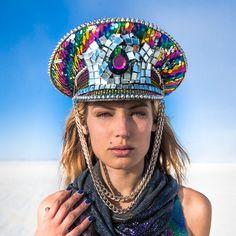 Custom Captain's Hat Order Burning Man Festival Hat by Auminyc