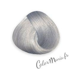 coloration cheveux gris argent directions color mania - Dcoloration Cheveux Colors