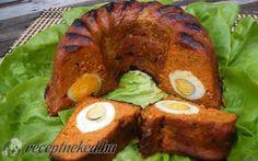 Stefánia vagdalt torta recept fotóval Bagel, Baked Potato, Potatoes, Bread, Baking, Ethnic Recipes, Food, Potato, Brot