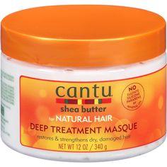 Cantu Shea Butter For Natural Hair Deep Treatment Masque, 12 oz