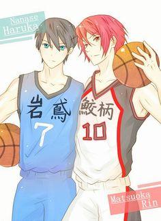 Free! / Kuroko no Basket ~~ Haru & Rin cosplaying