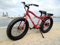 Pedego Trail Tracker: 600 watt, 48V e-bike made for off-road trails & sand riding