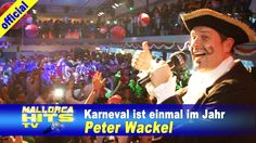 Peter Wackel - Karneval ist einmal im Jahr - Ballermann Hits - http://mallorcahitstv.de/2015/02/peter-wackel-karneval-ist-einmal-im-jahr-karneval-partyboot-2015/