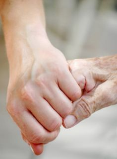 Young & Old Holding Hands - 10 commandments for human relations