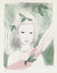 Marie Laurencin, Fillette à la Rose