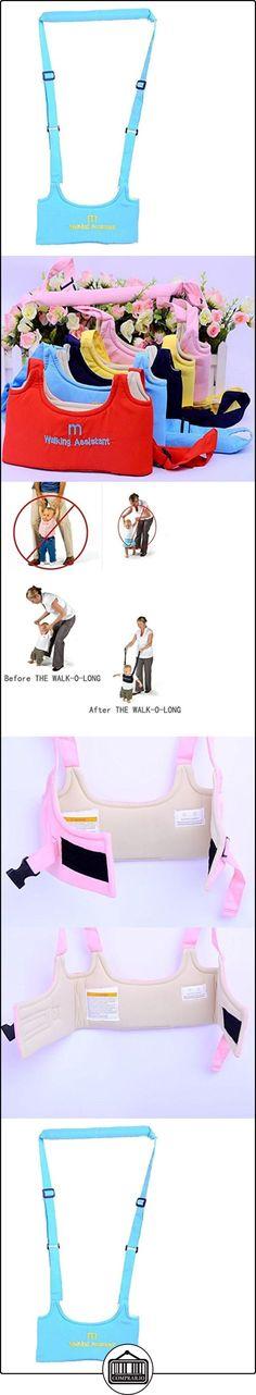 Hivel Handheld Asistente de Caminar Bebe Baby Walker Toddler Walking Assistant Nino del Bebe Aprenda a Caminar Cinturon Andador Asistente Arnes de Seguridad - Azul  ✿ Seguridad para tu bebé - (Protege a tus hijos) ✿ ▬► Ver oferta: http://comprar.io/goto/B01DP1DL9M