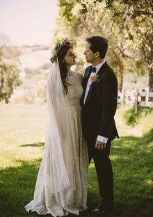 Vintage Carmel Wedding