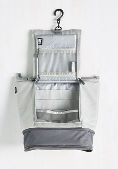 26816d9cc5ed Glam To-Go Makeup Bag in Grey. Unlike other travel bags