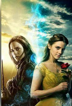 #emmawatson #hermione #belle #harrypotter #beautyandthebeast