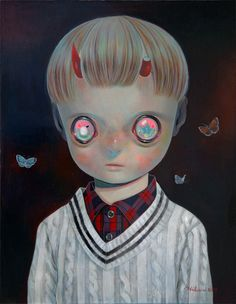 """Hikari Shimoda Discusses Her Latest Starry-Eyed Portraits in """"Recycling Humanity"""" 