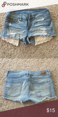 American Eagle jean shorts Perfect condition American Eagle jean shorts. American Eagle Outfitters Shorts Jean Shorts