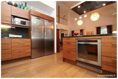 Wood stone kitchen