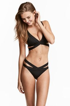 Cheeky bikini bottoms - Black - Ladies | H&M GB