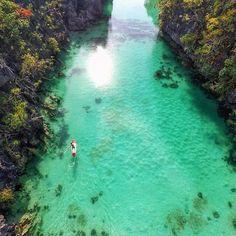 Big Lagoon - El Nido, Palawan, Philippines --- Photo by @misscindrich --- #ElNido #Philippines
