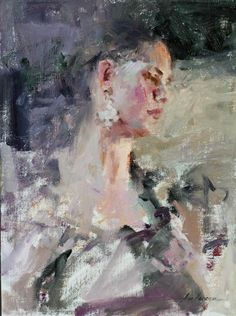 Portrait of a Dancer by Carolyn Anderson