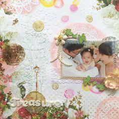 by sakura scrap Casket, Scrap, Challenges, Sparkle, Frame, Baby, Home Decor, Picture Frame, Decoration Home