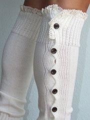 Crochet Boot Socks...We Love these fabulous leg warmers.  www.limestreetfashion.com #bootsocks  #legwarmers  #fashion  #limestreet