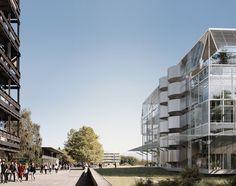 Baukunst . Bruther . Sciences de la Vie building . Lausanne  (1)