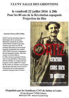 Ciné-débat sur la Révolution espagnole le 22 juillet 2016 à Cluny : http://clun.yt/29lKg5g