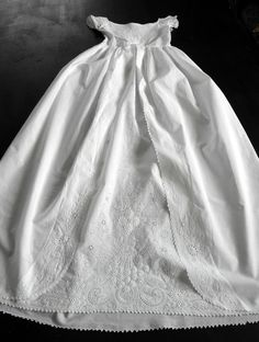 Antique Ayrshire Christening Gown