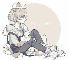 # ngu-nhin Welcome to the world of singers ! Fan Art Anime, Anime Art Girl, Manga Art, Anime Neko, Kawaii Anime, Manga Anime, Neko Cat, Cute Characters, Anime Characters