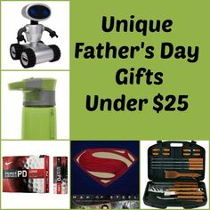 Unique Father's Day Gift Ideas under $25