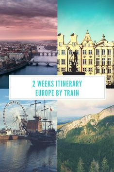 Discover Central and Eastern Europe by train. This itinerary takes you to the coolest cities in Central and Eastern Europe. Backpacking Europe, Europe Travel Guide, Travel Destinations, 2 Week Europe Itinerary, Travelling Europe, Holiday Destinations, Traveling, European Destination, European Vacation