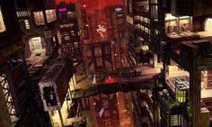 街並み イラスト 和風 中華風 - Google 検索