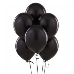 AnnoDeel 50 pcs Black Latex Balloons, Pure Black Balloons for Black Party Birthday Wedding Party Balloons Decorations. Wedding Balloon Decorations, Wedding Balloons, Birthday Balloons, Birthday Party Decorations, Birthday Ideas, Graduation Balloons, 50th Birthday, Batman Birthday, Minion Birthday