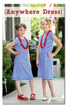 The Anywhere Dress ~ Sugar Bee Crafts