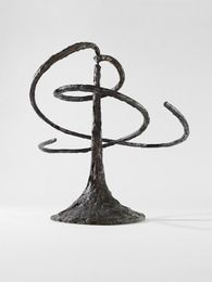 Alexander Calder 1944 The Helices (double helix) Bronze CALDER FOUNDATION | WORK | BY CATEGORY