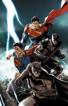 BATMAN/SUPERMAN #4  Written by GREG PAK  Art and cover by JAE LEE  Variant cover by TONY S. DANIEL