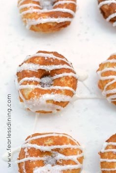 Lemon gluten free donuts are the perfect homemade baked donuts to make for breakfast or brunch, and these gluten free lemon donuts are dairy free too! This easy gluten free donuts recipe is. the lemon donuts are ready to eat in under 20 minutes. Gluten Free Donuts, Gluten Free Sweets, Gluten Free Chocolate, Homemade Baked Donuts, Baked Donut Recipes, Easy Donut Recipe, Pan Recipe, Lemon Desserts, Sweet Breakfast