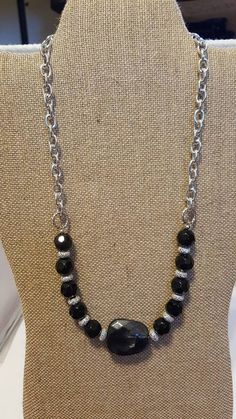 Check out this item in my Etsy shop https://www.etsy.com/listing/524960019/statement-necklace-black-statement