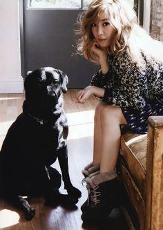 SNSD Tiffany - Elle Magazine November Issue '14