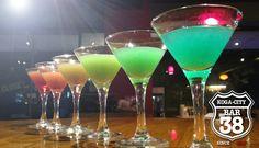 Bar 38 - Thirty-eight - Rainbow Shot  レインボーショットカクテル  https://youtu.be/Eys_OLIe7Gs