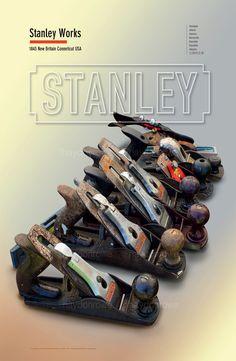 Stanley Tools - Planes @ theclassicpostercompany.com
