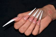 Gabriella Kovacs won the amazing 2nd place in the Sculptured Stiletto Nails Category at the ISSE Long Beach!