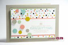 Stampin Up sale-a-bration 2014 DSP Sweet Sorbet Süßes Sorbet Designerpapier Bildlich gesprochen See Ya Later Geburtstag Birthday from www.StampinClub.de