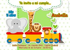 New birthday invitation card. Nuevo modelo de invitación para cumpleaños. Disponible en http://elsurdelcielo.blogspot.com