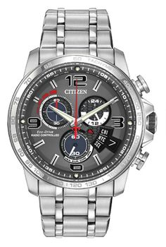 Citizen Citizen Eco-Drive  Chrono Time A-T BY0100-51H Atomic Timekeeping