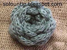 Rosas tejidas bonitas y fáciles de hacer | Solountip.com